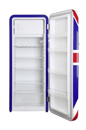 ... Britischer Flaagen Kühlschrank Havanna Im Retro Design ...