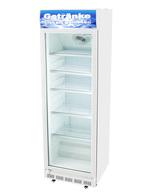 Weißer Kühlschrank zur Getränkekühlung