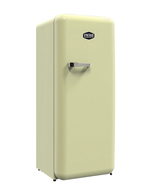 retro fridge-freezer Havanna -  cream
