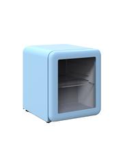 Mini Glastürkühlschrank im Retro Design