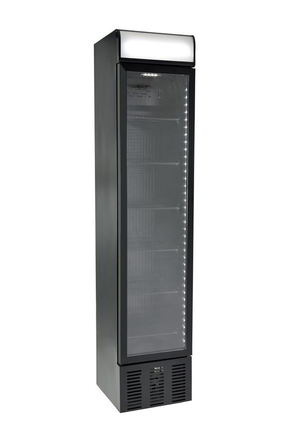 Schmaler Getränkekühlschrank - GCDC130 – Gastro-Cool