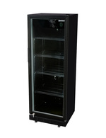 Black Glass Door Fridge