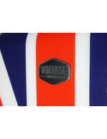 Union Jack retro refrigerator with detail image Logo Vintage Industries