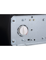 Manuelle Temperaturkontrolle des Werbekühlschranks im Tonnendesign